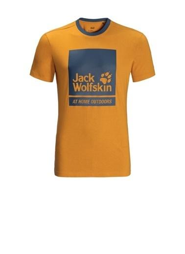 Jack Wolfskin Jack Wolfskin 365 Thunder T M Erkek Tişört 1807711-3070 1807711-3070096 Sarı